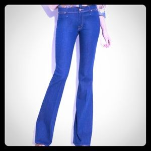 Mother curfew flare jeans